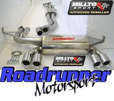 Milltek bmw m3 e46 #stainless #exhaust system cat back (01-07) coupe & #cabriolet,  View more on the LINK: 	http://www.zeppy.io/product/gb/2/330488917418/