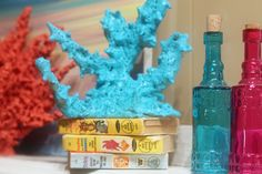 Make your own coral decoration without damaging a coral reef or breaking the bank! Here's how to do it on your own using ingredients you already own.