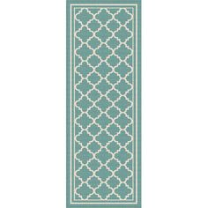 You'll love the Fairhaven Aqua Indoor/Outdoor Area Rug at Wayfair - Great Deals on all Rugs  products with Free Shipping on most stuff, even the big stuff.
