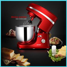 114.20$  Buy now - http://aliwcl.shopchina.info/go.php?t=32776234137 - 7 liters SM983S electric stand mixer blender food processor,stand cake/egg/dough mixer,milk shakes milk mixer food mixer/blender  #magazine