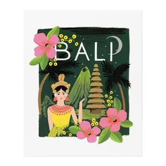 Bali 11x14 Art Print