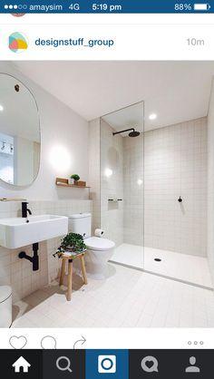 White scandi minimalist bathroom