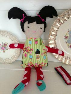 Doll PennyRose - handmade by Ella's Rella's