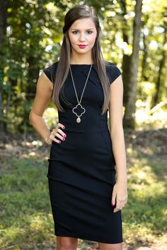 Absolute Ambition Dress-Black - All Dresses | The Red Dress Boutique