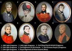 1.- 19th Regiment of Light Dragoons