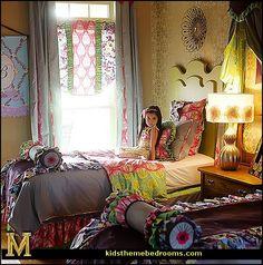 Decorating Theme Bedrooms   Maries Manor: Bedding   Funky Cool Teen Girls  Bedding Fashion · KinderzimmerSchwester SchlafzimmerTeenagermädchen ...