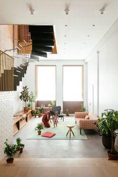 Fusion de deux résidences en une seule à Tribeca par Dash Marshall - Journal du Design