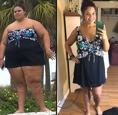 Jessica Beniquez, 21, documented her weight loss journey on social media