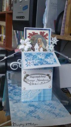 Christmas box card