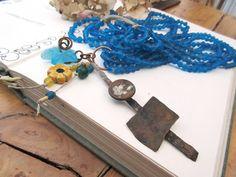 Un collier style industriel boho chic ethnique par annemarietollet