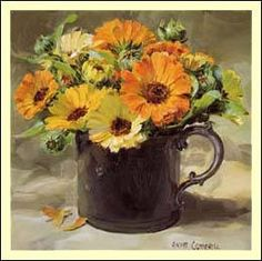 """""""Marigolds"""" - by Anne Cotterill"""