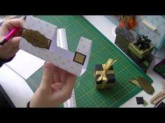 Tuto marque places pour mettre un petit cadeaux - YouTube