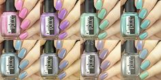 Copycat Claws: Contrary Polish Spring It On Collection and Color4Nails Exclusives
