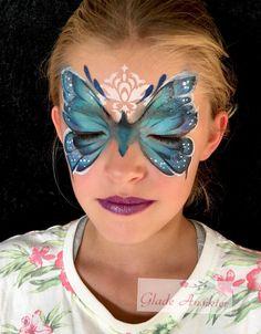 Sommerfugl ansiktsmaling Butterfly facepaint Cute Kids, Carnival, Butterfly, Face, Norway, Painting, Ideas, Butterflies, Painting Art