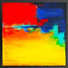 Abstract Acrylic Painting- Contemporary Wall Art -