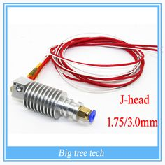 E3D V5 Long- distance 3D Printer  J-Head Hotend For 1.75mm 0.3/0.4/0.5mm 3D Bowden Extruder 0.3/0.4/0.5 nozzle optional    	         	Long- distance 3D Printer  J-Head Hotend For 1.75mm 0.3/0.4/0.5mm 3D Bowden Extruder 0.3/0.4/0.5 nozzle optional 	 Product descrition: Thermistor:100K NTC B 3950 ±1% ,1m long 	With free Copper Cap 	Heat tube:12V 40W,1m ...    US $3.69…