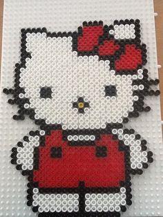 Hama bead Hello kitty by Randi Frederiksen