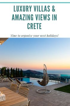 Time to organize your next holidays in Crete! #crete #greece #chania #summer #vacations #holiday #travel #sea #sun #sand #nature #landscape #island #TheHotelgr #rent #villas #apartments #nature #view  #holidays #travelling #instatravel #pool #pinterest #luxury #villa #apartment #urlaub #ferien #reisen #meerblick #aussicht #sommer #thehotelgr