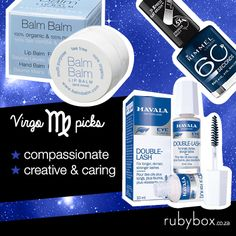 SHOP these products here: http://rubybox.co.za/concepts/zodiac?utm_source=pinterest.com/social&utm_medium=zodiac_board&utm_campaign=products_virgo