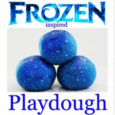 We're making this again today! The kids can't get enough. Head to our blog to find the recipe for your kiddies! #frozen #playdough #madefromhouseholdingredients #madein5minutes #elsawouldloveit ❄️⛄️❄️ Jen x