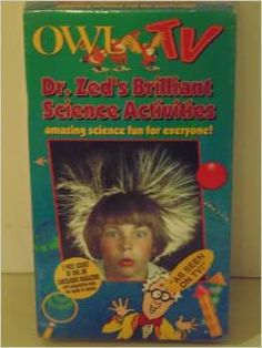 Owl TV: Dr Zed's Brilliant Science [VHS]new
