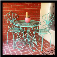 Mint Porch Furniture Would love to do this for the front pporch.