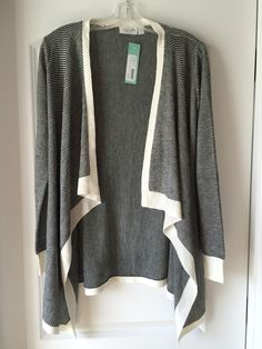 Stitch Fix September 2015 RD Style Vivianna Open-Draped Knit Cardigan. Try Stitch Fix for yourself!  Use my referral link: https://www.stitchfix.com/referral/4586769
