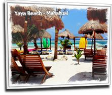 Yaya Beach Club - Beach Break in Costa Maya, Mahahual - Yaya Beach Club - Beach…