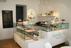Humble Pie Bakery - Clean & simple - love it! Cute @Allison j.d.m j.d.m j.d.m j.d.m Rice