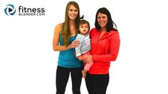 Mom and Baby Workout - AKA The Difficulties of Working Out With a Baby - Fitness Blender