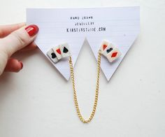 Playing Card Collar Clips