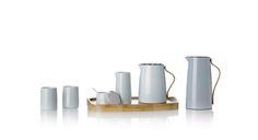 Akcesoria do kawy i herbaty z serii Emma Blue, marka Stelton #stelton #design