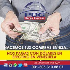 Si tienes dólares en efectivo que puedan ser entregados en nuestro almacén en Valencia hacemos tus compras en la tienda en USA de tu preferencia. Repuestos, Accesorios, Productos de cualquier tipo. #Pdgcargoexpress