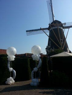Ballonstaanders voor uw bruiloft - De Ballonnenkoning