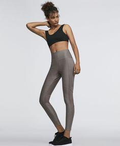 Mink calendered leggings - Yoga - ACTIVEWEAR | Oysho España - Canarias