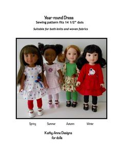 """IVORY DOLL TIGHTS fits American Girl 14.5/"""" WELLIE WISHERS DOLL"""