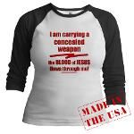 I'm carrying a concealed weap Jr. Raglan