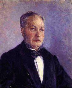 Gustave Caillebotte - Portrait de Jean Daurelle