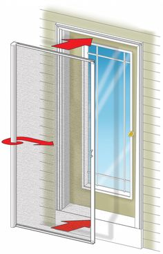 Odl Retractable Screen Door phantom unseen retractable screen door solutions | ebay buy it now