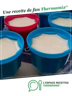 Creme Dessert Thermomix, Thermomix Desserts, Easy Desserts, Dessert Simple, Hip Workout, Easy Workouts, Sweet Recipes, Mousse, Pudding