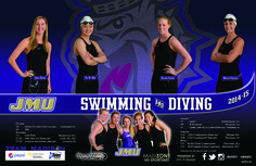 JMU 2014-2015 Swimming & Diving schedule poster! Click to download the full version.