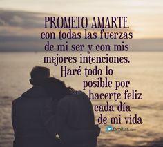 prometo hacerte feliz siempre...TeAmo esposo mio...❤️y Amarte siempre...❤️