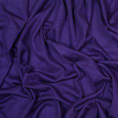 Rich Purple Stretch Rayon Jersey Fabric by the Yard   Mood Fabrics