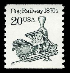 20c Cog Railway coil single