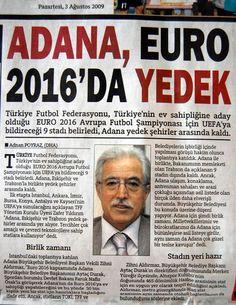 UERO 2016'da Adana Yedeklerde | Adana Yaşam Rehberi