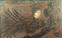 """Sirin is a mythological creature of Russian legends, with the head and chest of a beautiful woman and the body of a bird (usually an owl). According to myth, the Sirins lived """"in Indian lands"""" near Eden or around the Euphrates River.["""