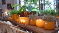 Seen at Blumenhof Kehr, Hamburg. Presentation of DutZ collection vases, colour orange Henry Dean, Orange Color, Colour, Shops, Flower Vases, Flowers, Presentation, Inspiration, Collection