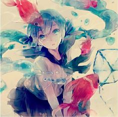 Browse VOCALOID collected by Mimss and make your own Anime album. Hatsune Miku Vocaloid, Miku Chan, Desu Desu, Anime Triste, Manga Kawaii, Vocaloid Characters, Anime Kunst, Fan Art, Anime Artwork