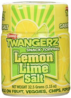 Twangerz Seasoning Salt Blend for Foods and Snacks - Four Flavors Including Lemon Lime, Lime, Pickle and Chili Lime - Convenient 1.15 Ounces Shakers to Sprinkle on Fruit, Veggies, Chips, Popcorn, Meat and Seafood for a Zesty Treat (12 Shakers 3 of Each Flavor) * A special product just for you to view. See it now! - Fresh Groceries