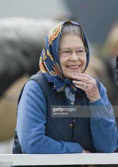 Queen Elizabeth II attends the Royal Windsor Horse Show 2009 on May 15, 2009 in Windsor, England. Her pony Balmoral Morland wins the Highland Class 73.